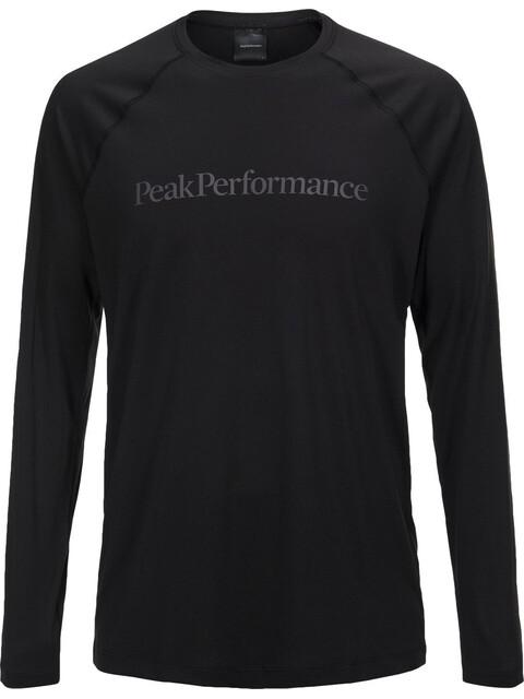 Peak Performance M's Gallos Co2 LS Tee Black